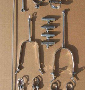 Páková brzda Roller-lever, kompletný set