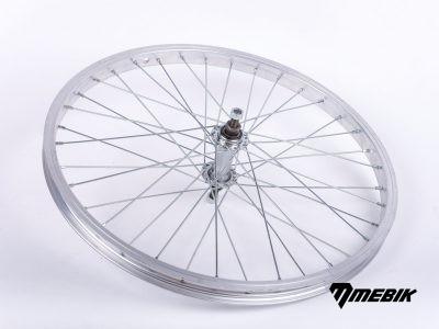 """Zapletené koleso na bicykel 20"""" - predné"""