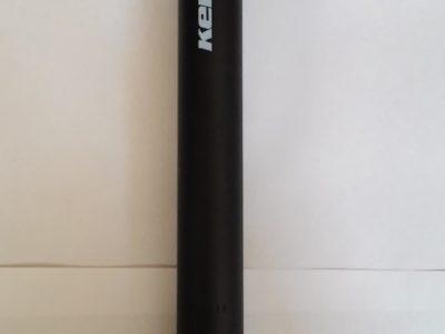 Sedlovka 27,2 x 300 mm, čierna so zámkom