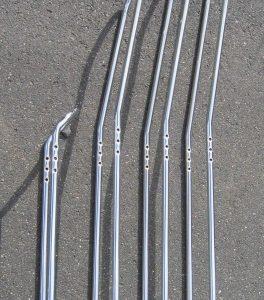 Sissybar - rôzne veľkosti