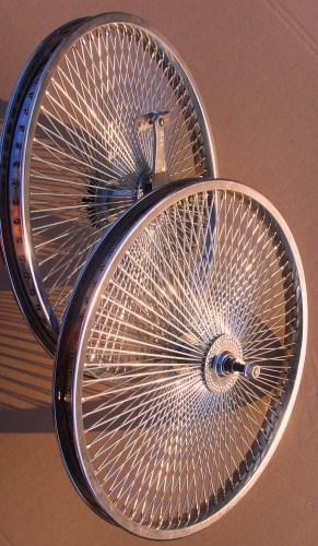 140 špicové kolesá