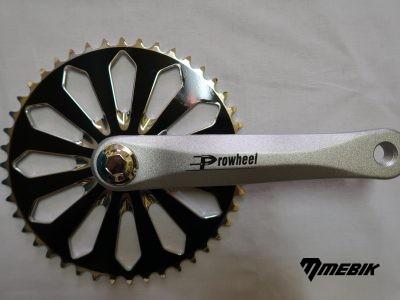 Kľuky Prowheel Crystal 44 zubov, 170 mm
