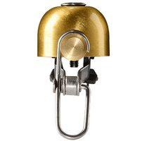RockBros dizajnový zvonček na bicykel, zlatý