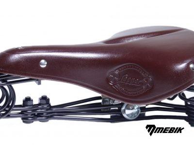 Kožené sedlo Lepper N90, hnedé