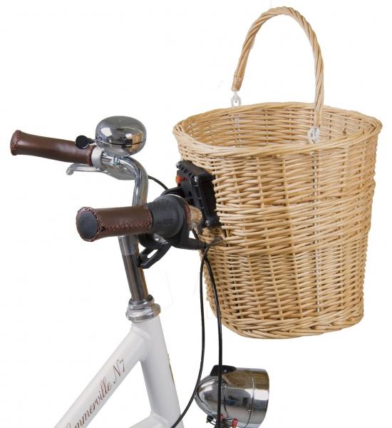 Kôš na bicykel s držiakom