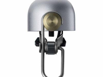 RockBros dizajnový zvonček na bicykel, strieborný