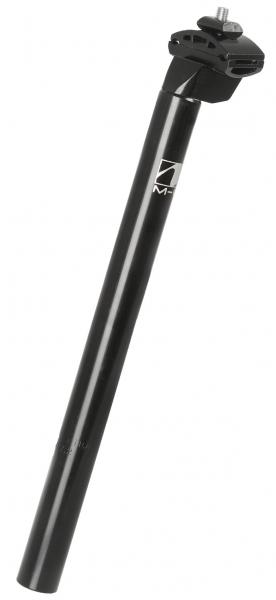 Sedlovka 25,4 x 350 mm, čierna so zámkom