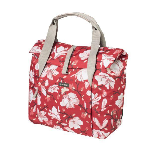 brasna na zadny nosic bicykla 18l basil magnolia shopperbag v