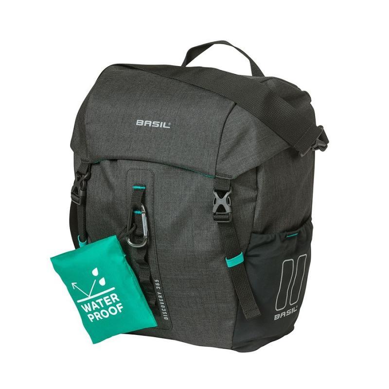 brasna na zadny nosic bicykla basil discovery 365d single bag m v