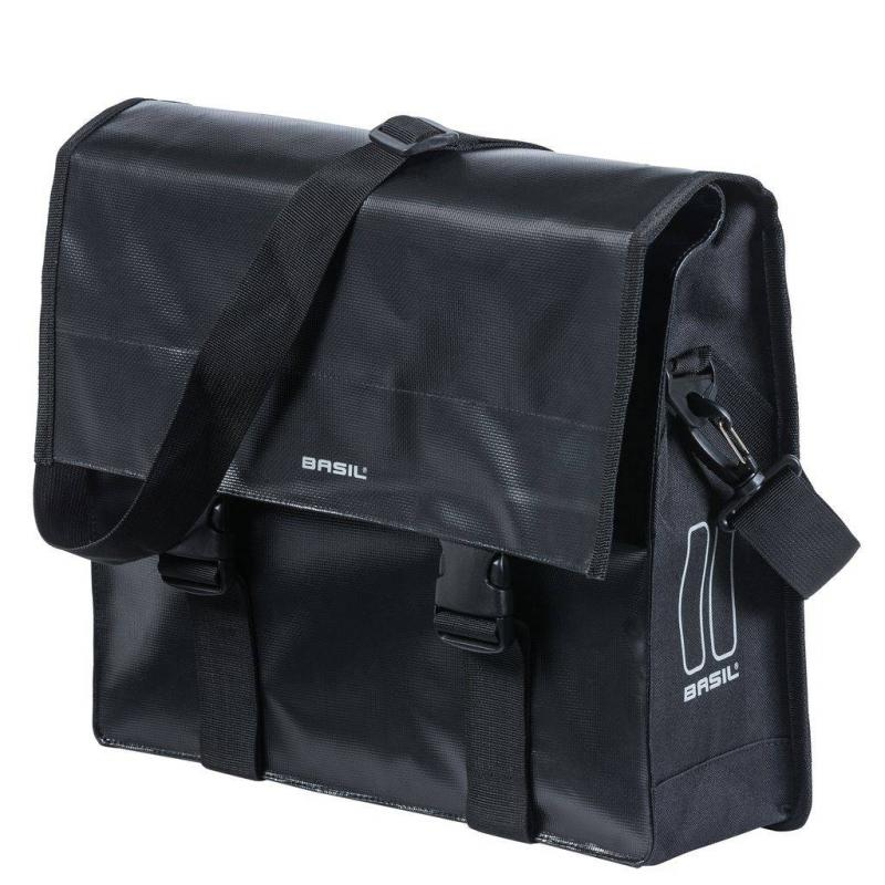 taska na bicykel s remenom na plece basil urban load messenger bag v