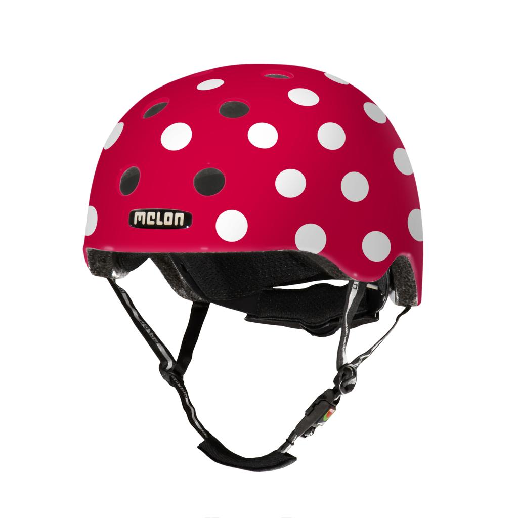 Melon Helmets URBAN ACTIVE .MUA .G049M Dotty White