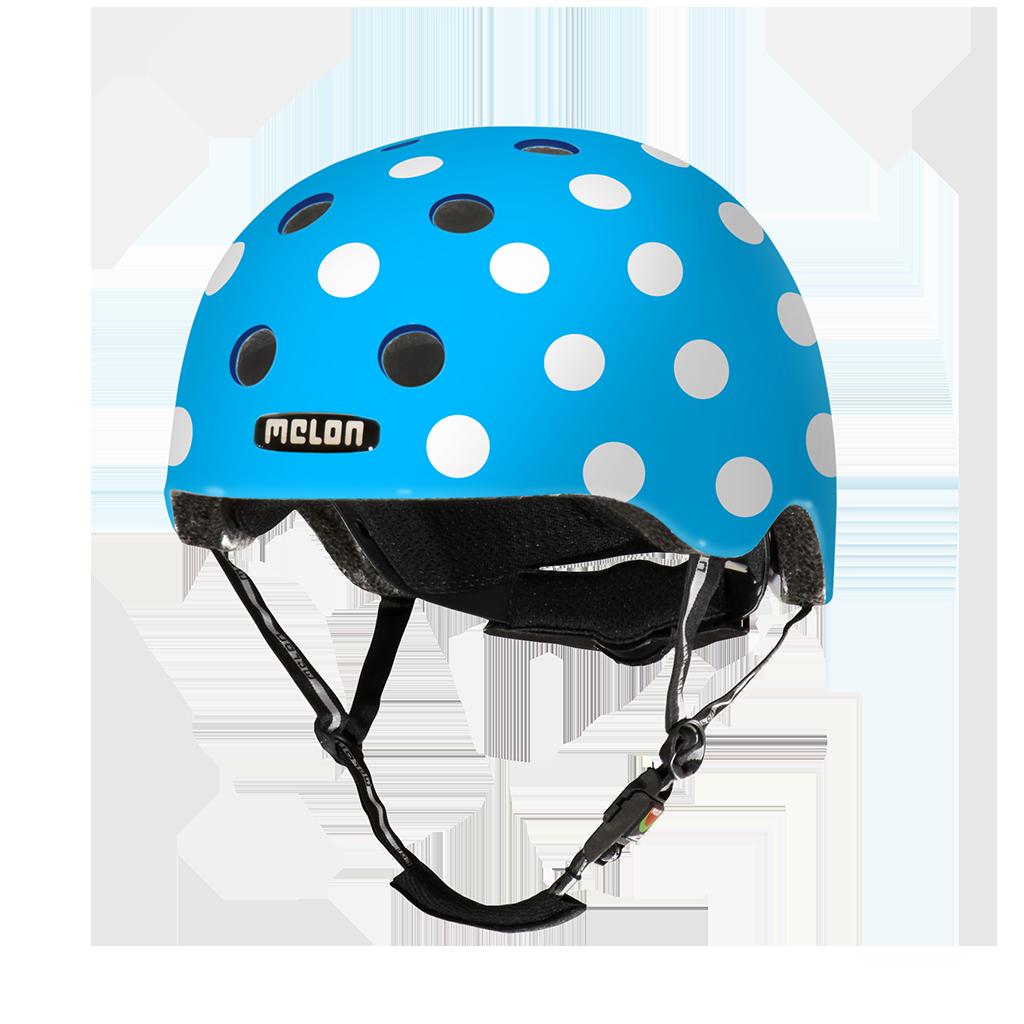 Melon Helmets URBAN ACTIVE .MUA .G051M Dotty Blue