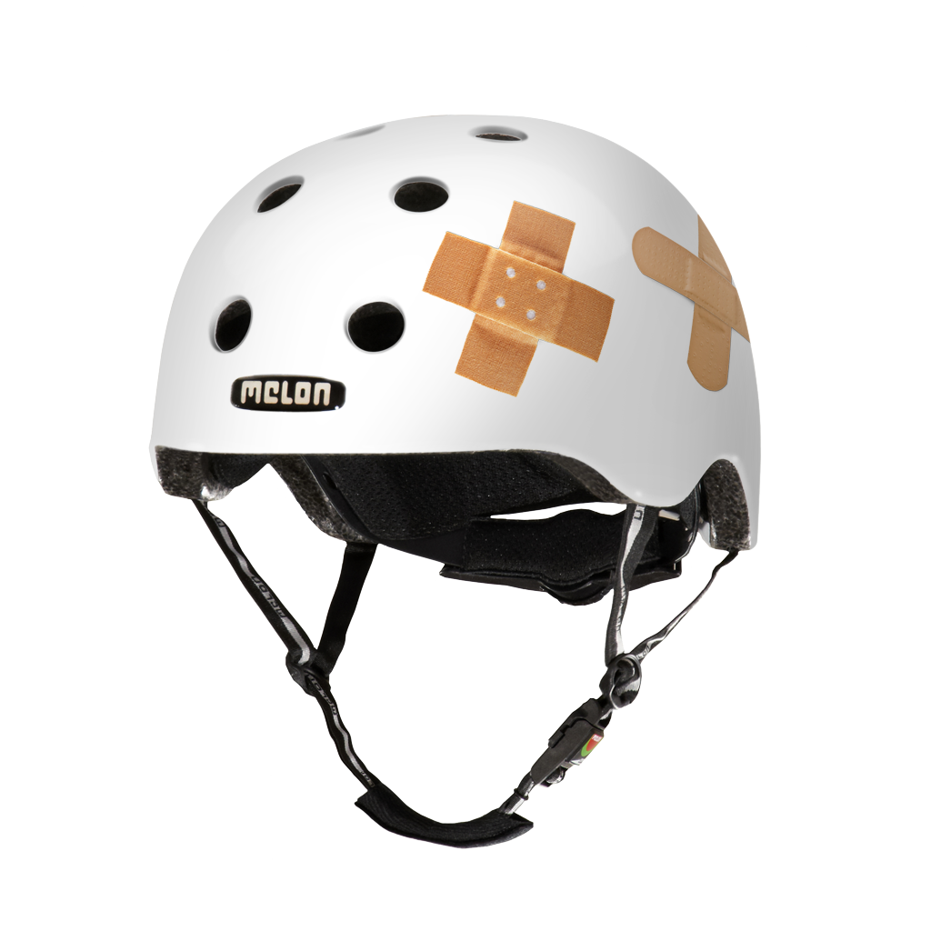 Melon Helmets URBAN ACTIVE .MUA .G077M Plastered White
